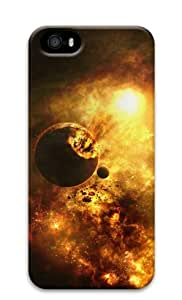 Sakuraelieechyan Exploding Planet Space Universe iPhone 5 5S 3D PC Material Hard Protective Case