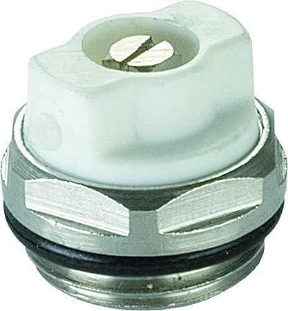 Purgador toallero radiador 1/2 • Giratorio Manual • Universal • Purgador Calefaccion 1/2