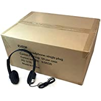 Education IDFV-060 Stereo Headphones (50 Pack Carton)