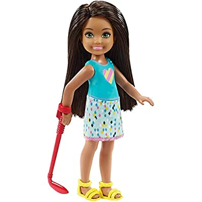 Barbie Club Chelsea Mini Golf Doll and Playset: Toys & Games