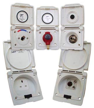 Bullfinch 6097 Caravan /& Motor Home Water Inlet Point with pressure limiter