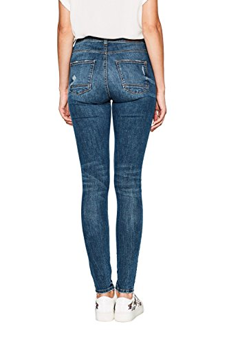 Wash Esprit Azul 902 Medium Mujer Skinny para Blue Vaqueros qrwFHnq0
