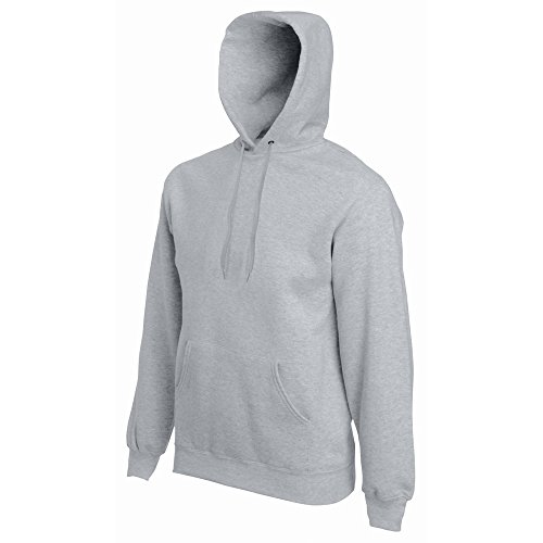 Grey Mens 70 The Loom heather Of Gris 30 Sweatshirt Premium Hooded Fruit Ppq7xn