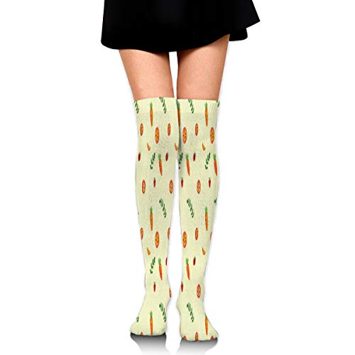 Stockings Vegetable Cute Pattern Unique Womens Boot Socks
