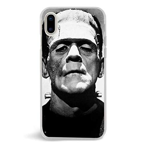 Turbo Delivery LLC -Halloween Scary Costume October 31st Nightmares Horror - Hard Rubber Phone for Apple iPhone Xs MAX(2018 Model). Made and Shipped from The USA