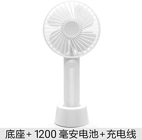 Ventilador Usb,Mini Handheld Pequeño Ventilador Blanco De Bajo ...