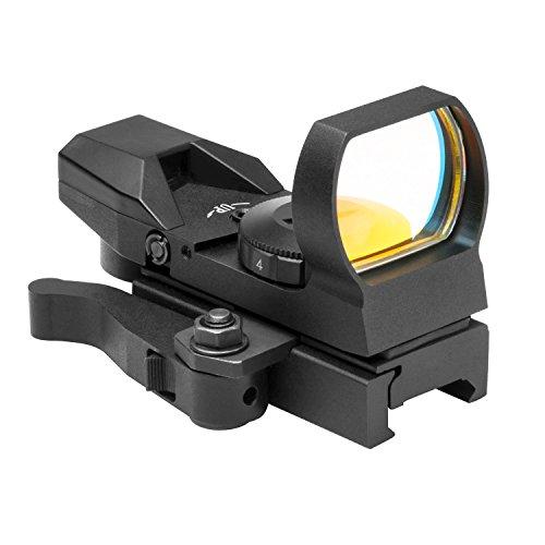 NcSTAR Zombie 4 Reticle Reflex Sight w/ Quick Release Mount, Black DZ4BQ