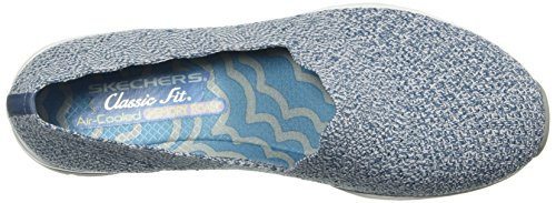 Slipper Skechers Damen Hellblau Skechers 49481 49481 6w0Ha