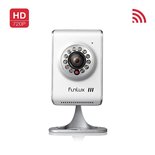 Funlux 720P HD Wireless Smart Home Security Camera with Two-Way Audio