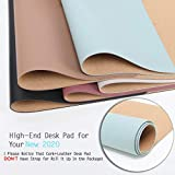 2020 New Updated Desk Pad, Waterproof PVC Leather