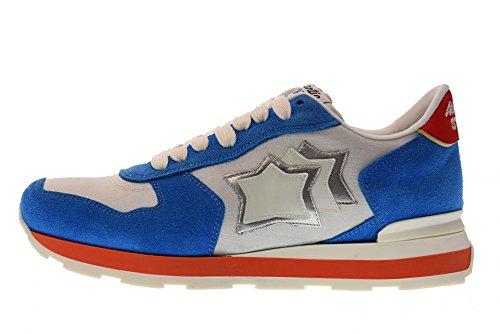 Atlantic Stjerner Sko Kvinder Lave Sneakers Vega Bd-35b Hvid Hvid UcpnwHLv1w