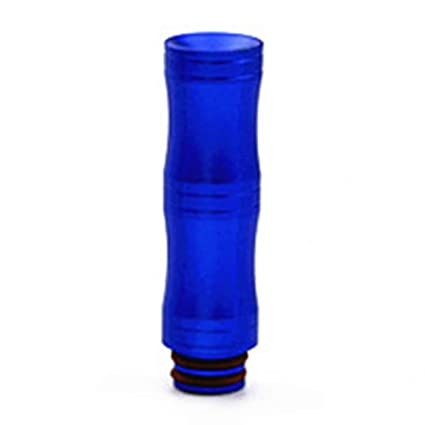 810 Blue Satelliter 810 Drip Tips 510 Drip Tip Standard Resin and Stainless Steel Drip Tip Connector for Ice Maker Coffee Mod