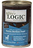 Nature's Logic Natural Sardine Canned Dinner Fare Canine Formula 12/13.2 oz. For Sale