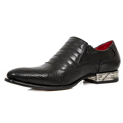 S1 New Black Homme Mocassins Rock Nw152 qqPfE