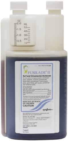 Fusilade II Turf and Ornamental Herbicide Quart SYN1015 Fusilade