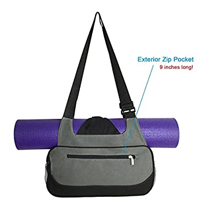 COMPACT YOGA MAT BAG / Stylish, Efficient & Lightweight / Perfect For Yogis Just Needing A Durable Eco-Friendly Bag To Carry The Essentials