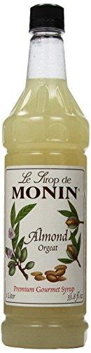 - Monin Monin Gourmet Flavoring Almond, 33.8-Ounce Plastic Bottles (Pack of 4)