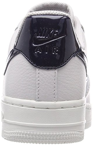 Nike Women's WMNS Air Force 1 '07 Gymnastics Shoes, Black Multicolour (Vast Grey/Obsidian-s 002)