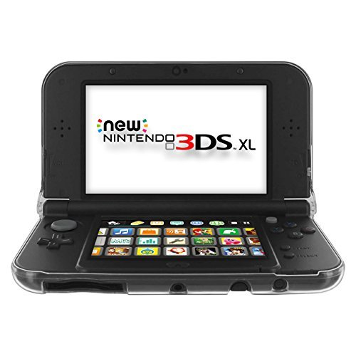 Cotechs® - Kristall Schutzhülle Crystal Clear Case für New ̖2015 Nintendo 3DS XL Hartschalen-Abdeckung