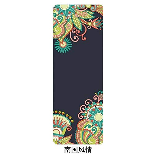 YOOMAT More Longer 183cm68cm5mm Natural Rubber Non-Slip Tapete Yoga Gym Mat Lose Weight Exercise Mat Fitness Yoga Mat