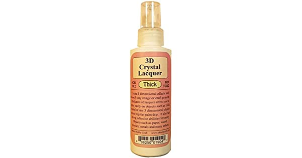 Amazon.com: 3d Crystal Laca thick-4oz: Office Products
