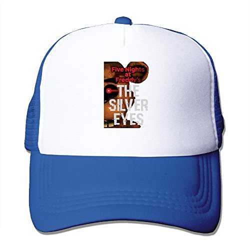[ACMIRAN Five Nights At Freddy's Personalize Mesh Hat One Size RoyalBlue] (Male Tomb Raider Costume)