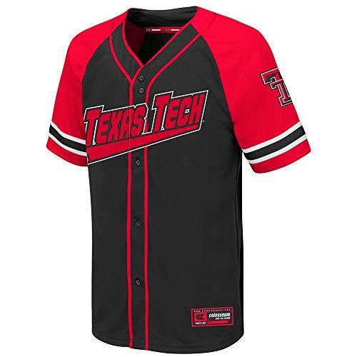 Colosseum Youth Texas Tech Red Raiders Wallis Baseball Jersey - S ()