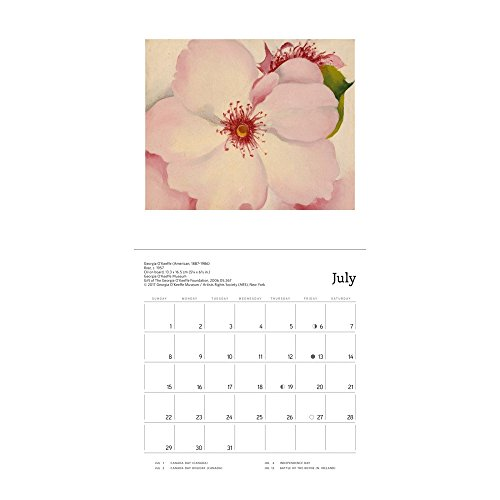 Georgia O'Keeffe 2018 Small Wall Calendar Photo #2
