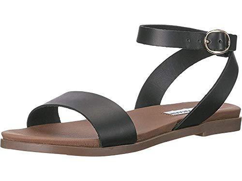 Steve Madden Women's Dalton Black Leather 10 M US