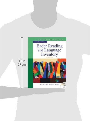 Bader Reading & Language Inventory (7th Edition) by Lois A Bader