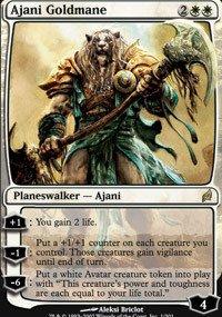 Magic: The Gathering - Ajani Goldmane - Lorwyn