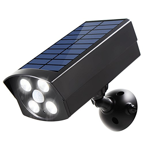 Innogear usb solar powered motion sensor lights dummy camera outdoor innogear usb solar powered motion sensor lights dummy camera outdoor spotlight led security lights for front door porch patio yard publicscrutiny Image collections