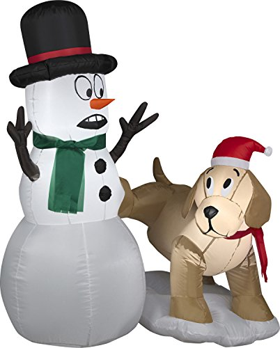 Holiday Magic Snowman - 7