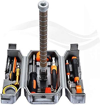Juego de martillo de cómic, caja de herramientas de mano para el hogar, martillo THOR no incluido, Kinf y Pencal de prueba: Amazon.es: Bricolaje y herramientas