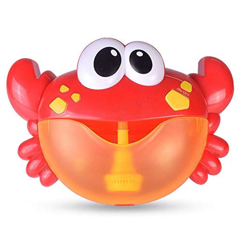 Goodfans Kids Automated Crab Shape Bubble Machine Bubble Maker Bath Shower Toy Bubbles from Goodfans