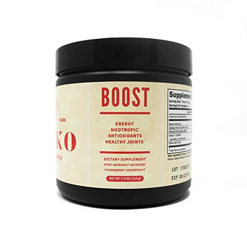 Zenko: Boost - Nootropic & Post Workout Recovery Supplement - Strawberry Grapefruit Flavor. Experience Energy, Joint Health and Antioxidant Ingredients All in One Post Workout Recovery Blend. ()