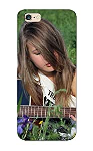 Awesome Dcea3ab5362 Rightcorner Defender Tpu Hard Case Cover For Iphone 6 Plus- Girl Guitar Deca String Mood Guitars Girls Women
