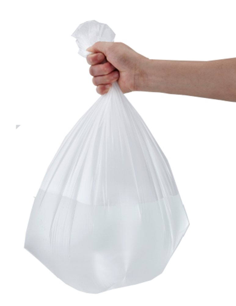 feiupe 1 2 gallon extra strong clear small trash bag garbage bag trash can 762360158257 ebay. Black Bedroom Furniture Sets. Home Design Ideas