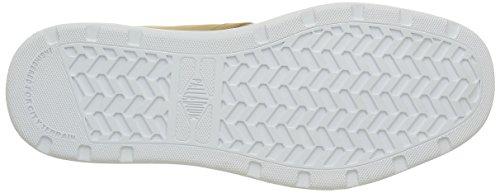 Palladium Palaru Hi Lea H, Sneaker a Collo Alto Uomo Giallo (E24 Warmed/White)