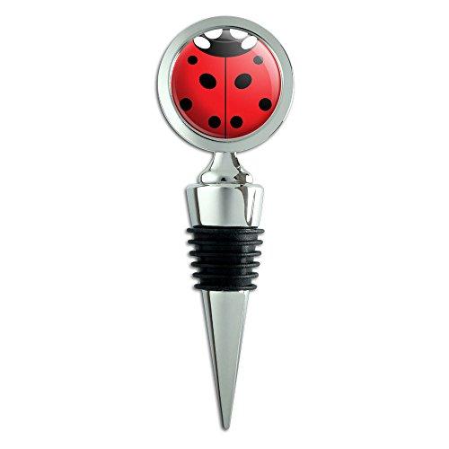 Lady Ladybug Insect Bottle Stopper