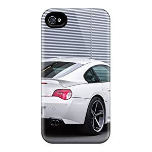 Fashion LTA8163wMXH Cases Covers For Iphone 6(white Ac Schnitzer Bmw M Coupe Rear Angle)