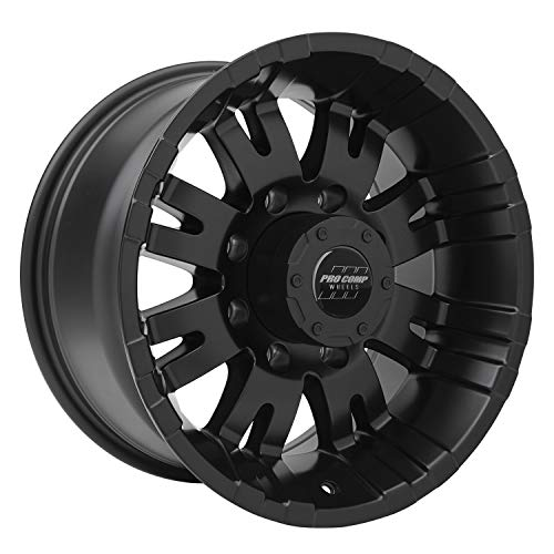 Pro Comp Alloys Series 01 Wheel with Satin Black Finish (18 x 9.5 inches /8 x 165 mm, -6 mm - Satin Viii
