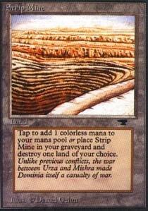 Magic: the Gathering - Strip Mine (Even Horizon) - Antiquities