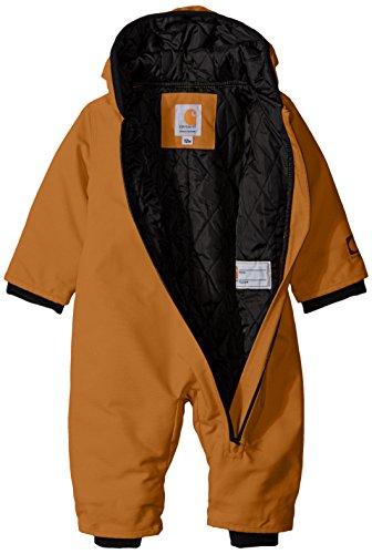 dcb540a8b Carhartt Baby Boys' CIB Quick Duck Snowsuit, Brown Dye, 18 - Import ...