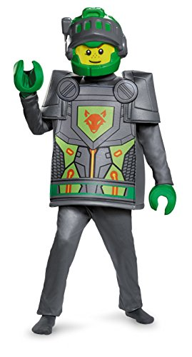 Top 10 Halloween Costumes For Boys (Aaron Deluxe Nexo Knights LEGO Costume, Large/10-12)
