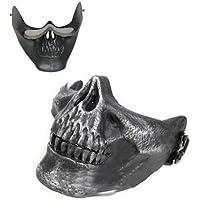 SODIAL(R) Mascara Diseno de Craneo Esqueleto para Halloween