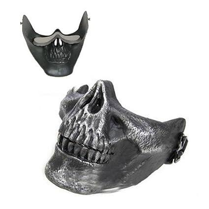 SODIAL(R)) Mascara Diseno de Craneo Esqueleto para Halloween