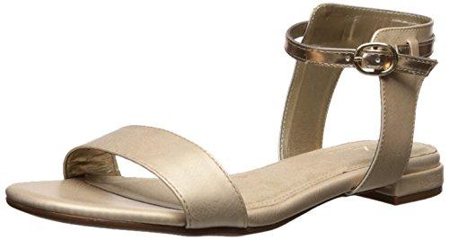 Aerosoles Womens Down Under Flat Sandal Gold Combo Hq4jG