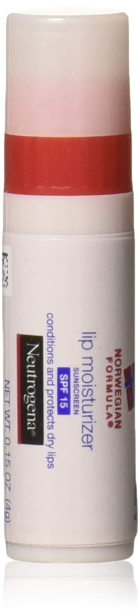 Neutrogena Norwegian Formula Lip Moisturizer With Sunscreen, Spf 15,.15 Oz.