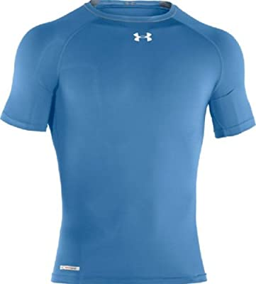 Men's HeatGear® Sonic Compression Short Sleeve Tops by Under Armour by Under Armour